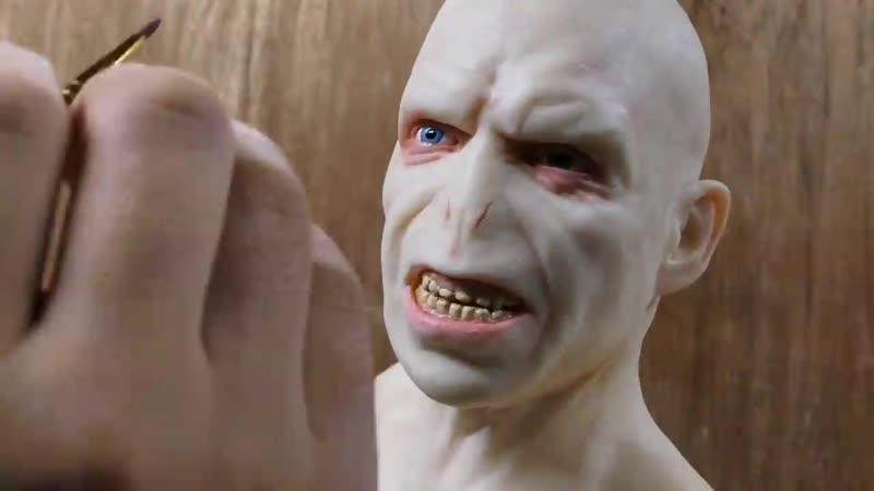 Voldemort Sculpture Timelapse - Harry Potter