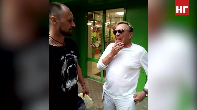 Костанайский мотоциклист познакомился с Гариком Сукачёвым