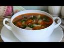 Суп с Килькой в Томате и Рисом