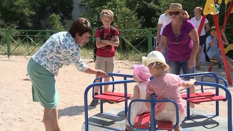 Председатель Заксобрания провела объезд по своему мажоритарному округу