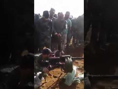 SYRIATHE S.A.A TIGER FORCES BRIGADIER GENERAL SUHEIL AL-HASSAN FROM THE NORTHERN HAMA CS TODAY