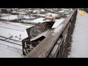 Новости UTV. Пешеходный мост через железнодорожные пути