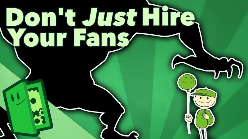 Don't Just Hire Your Fans Creating a Good Design Team Extra Credits