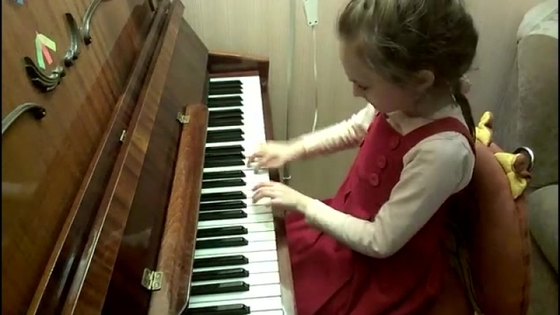 С. Майкапар. Этюд. Исполняет Алексеева Дарья, 7 лет (1)
