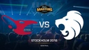 Mousesports vs North - DH MASTERS Stockholm - Semi-final - map1 - de_dust2 [Godmint, SSW]