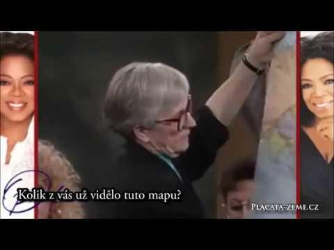 Jane Elliotová: Tato mapa je LEŽ! / Placata-zeme.cz