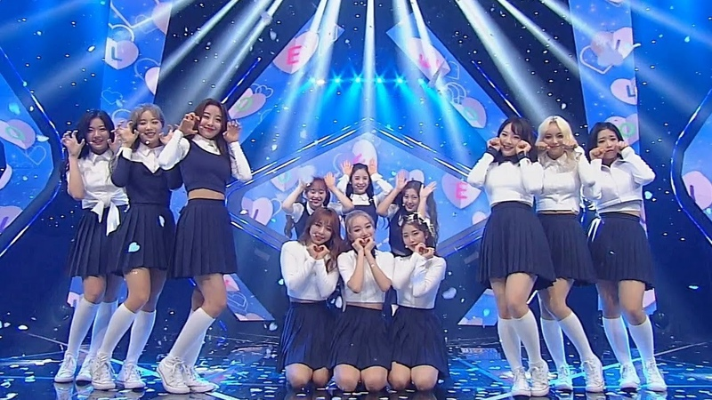 《ADORABLE》 LOONA(이달의 소녀) - Hi High @인기가요 Inkigayo 20180923