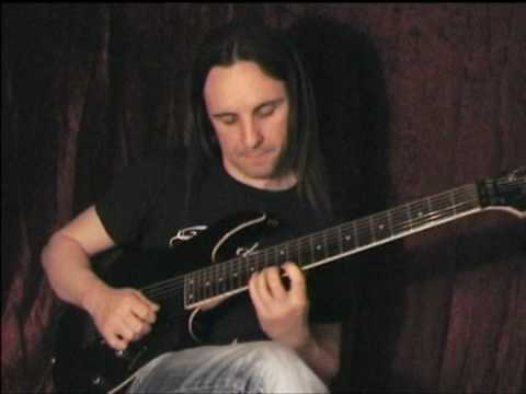 Crazy technical guitar solo by Charly Sahona