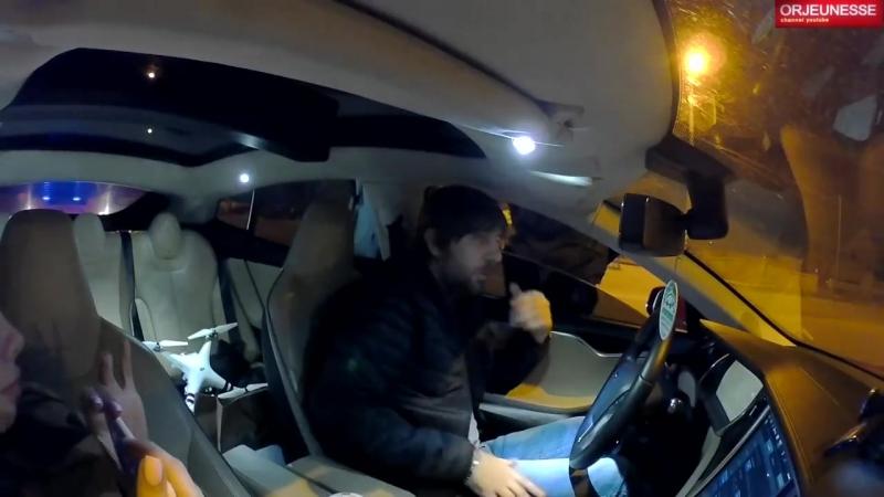 [ORJEUNESSE] Погоня 🚔 Tesla vs Полиция Prius Выйти руки на капот 🚓👮🏻♂️🤦🏻♂️