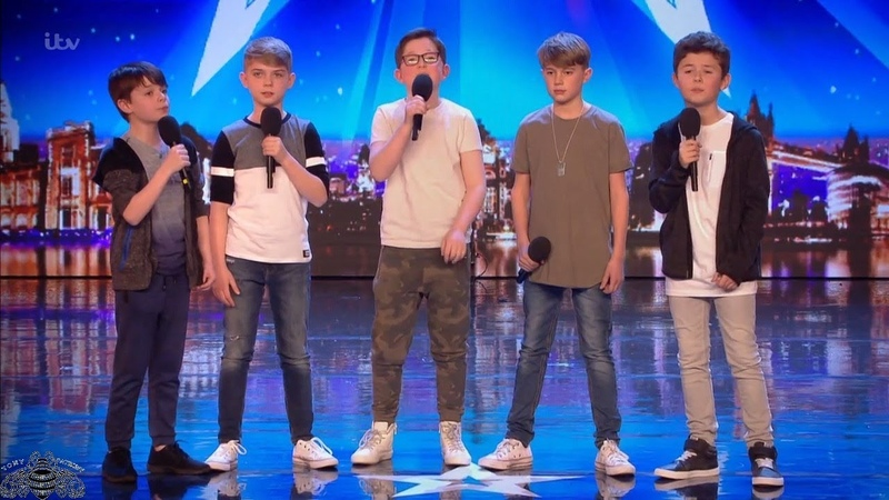Britains Got Talent 2018 Made Up North 10 11 Year Old Boy Band Full Audition S12E06