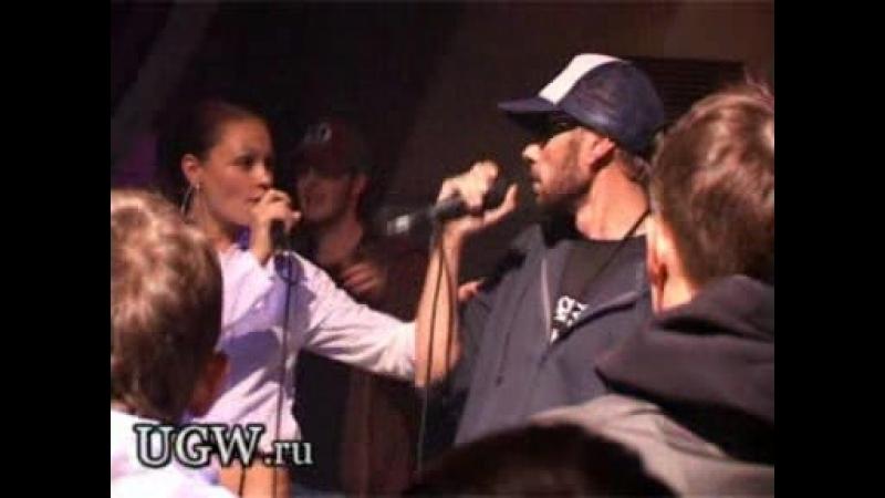 2007.10.05 - Гек x Ганш x DJ N-Tone x Еня - live part 3 - Лето, Реклама (Презентация cd Гека, Квадрат, Москва)