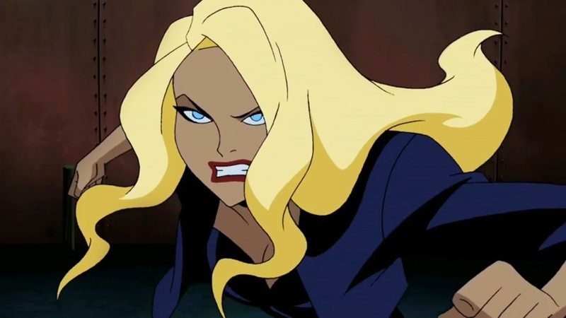 All Scenes Black Canary (Animated)