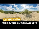 Nida Lithuania Exploring the Curonian Spit sand dunes and beach to the Russian border