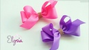 Laço Boutique Assimétrico 🎀 Ribbon Bow Tutorial 🎀 DIY by Elysia Handmade