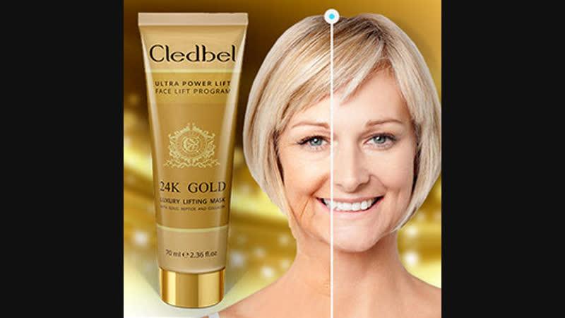 Cledbel <Original> Gold Mask 24k