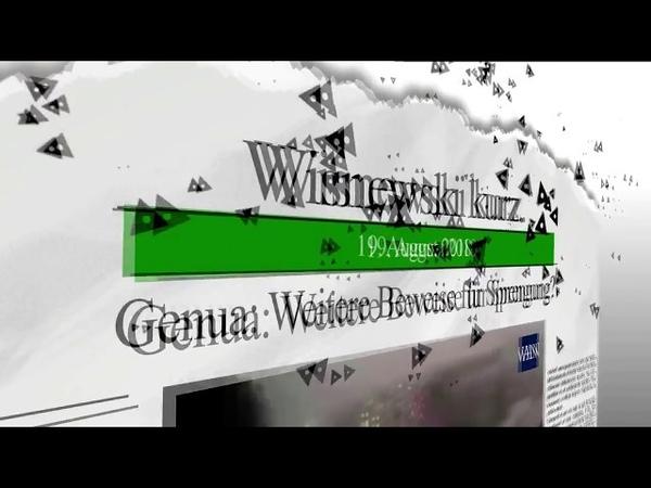 Genua: Weitere Beweise für Brückensprengung?