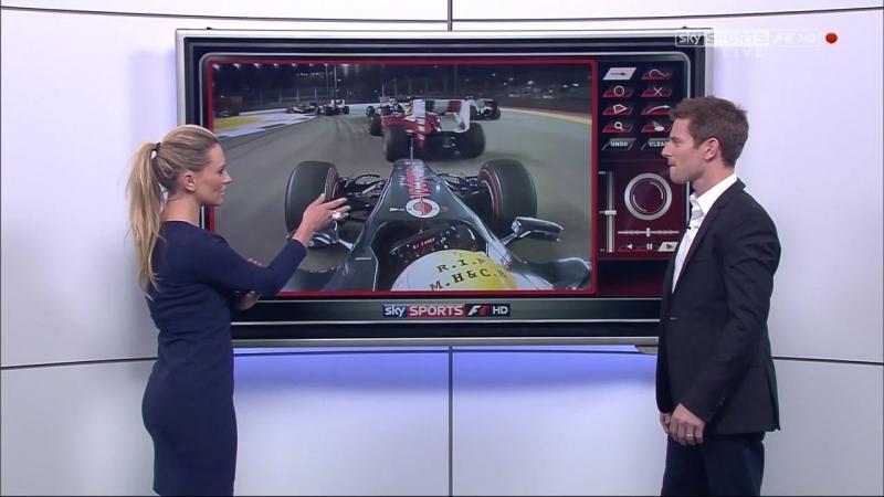 Гран-при Сингапура 2012. Pre-Race [Sky Sports]