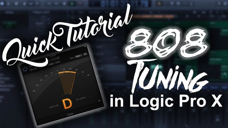 How To Tune 808s In Logic Pro X | Beat Maker Tutorials