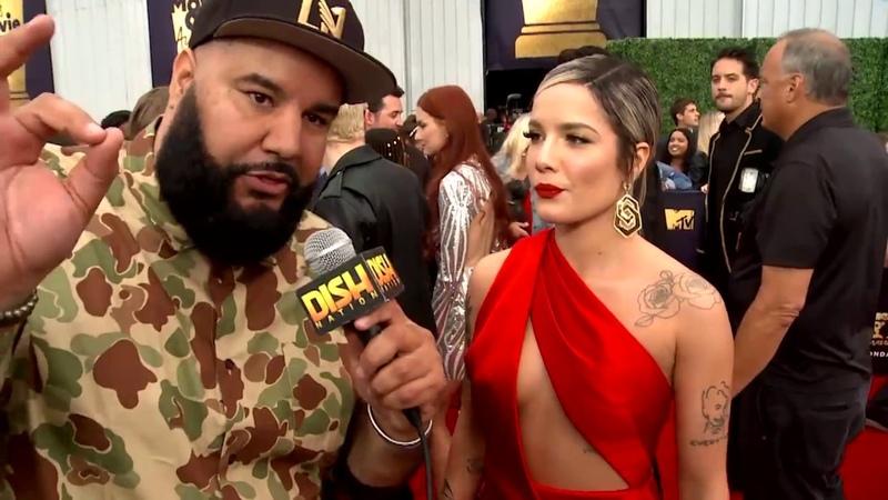 Halsey MTV Movie TV Awards *EXCLUSIVE* |Chuey Martinez|