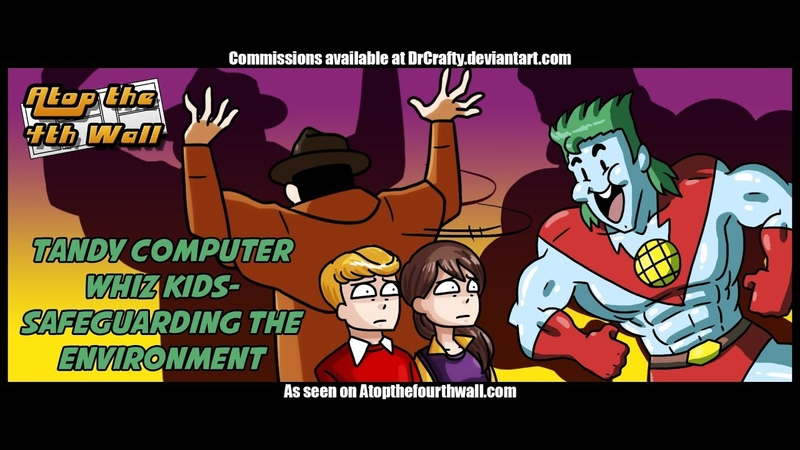 Tandy Computer Whiz Kids: Safeguarding the Environment - Atop the Fourth Wall