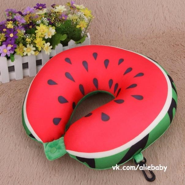 Горящие товары🔥🔥🔥. ❗Подушка под шею с фруктовым принтом всего за 220руб – 🔥 ©…