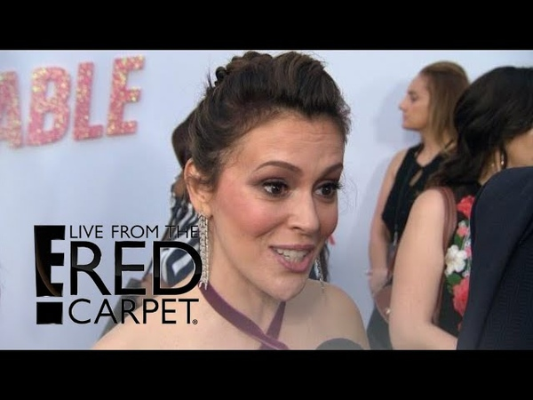Alyssa Milano on What Attracted Her to Insatiable Role   E! Live from the Red Carpet