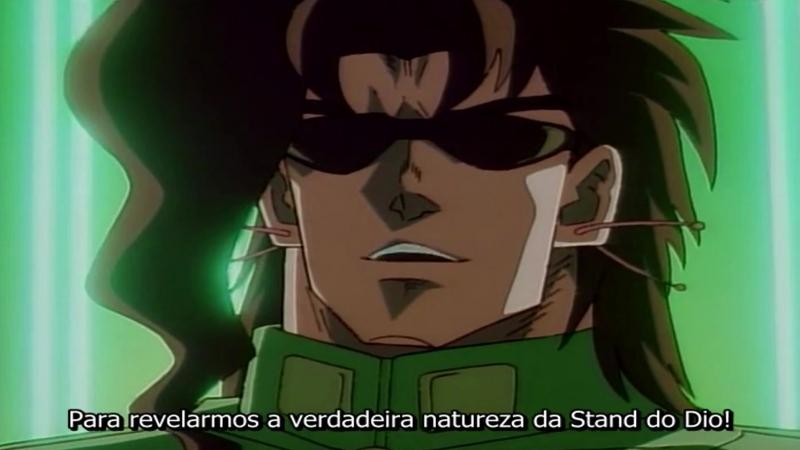 JoJo's Bizarre Adventure (1993) Episódio 12 - O Mundo de DIO - Kakyoin: Duelo na Barreira - (Legendado em Português)