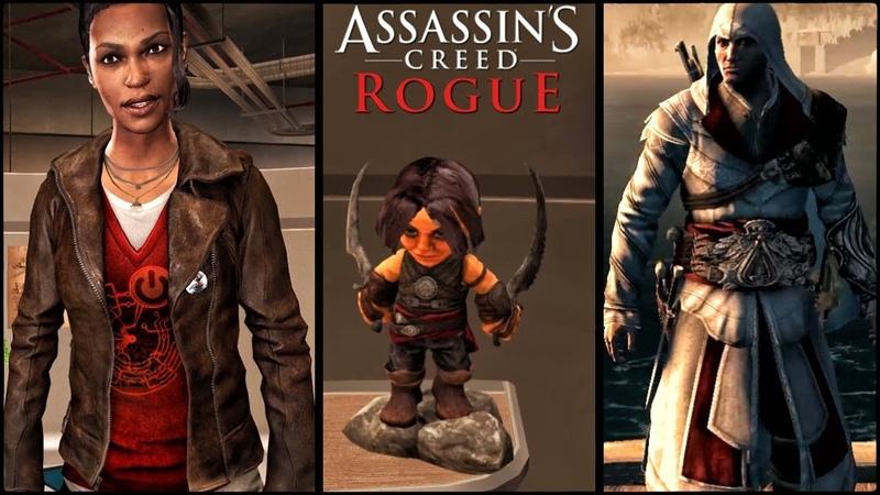 Assassin's Creed: Rogue - ПАСХАЛКИ И СЕКРЕТЫ / ЭЦИО, АРНО, ПРИНЦ ПЕРСИИ, ВСАДНИК БЕЗ ГОЛОВЫ!