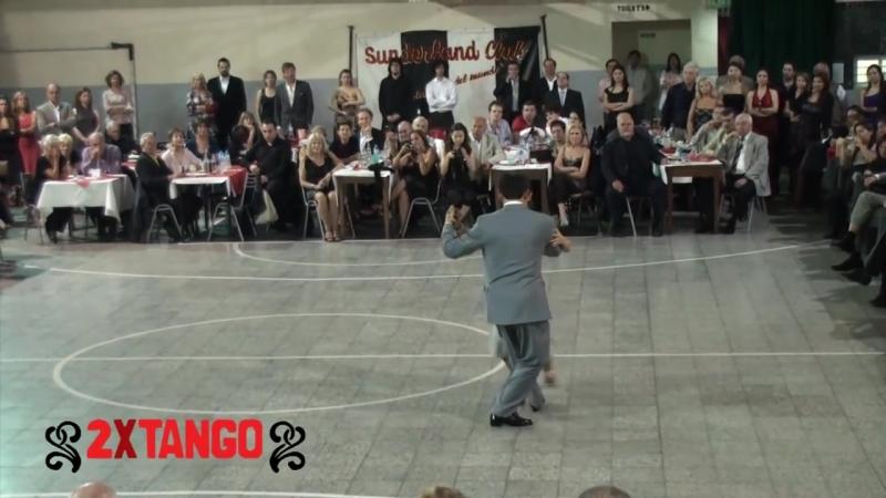 Fabian Peralta Lorena Ermocida. Tango Invierno en Sunderland Club Abril 2011