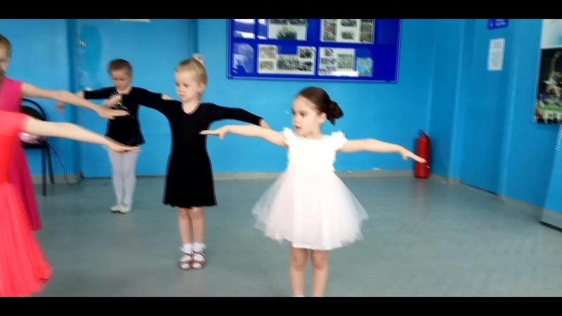 Открытый урок по танцам для родителей