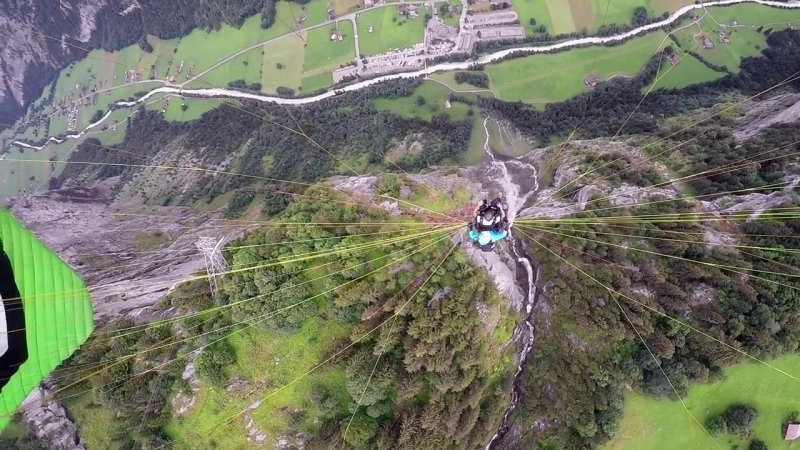 GoPro Awards_ Rope Swing Paragliding the Swiss Alps