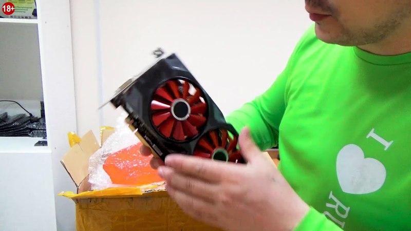 Видеокарты XFX RX570 на 8GB и блоки питания на 1600 ватт с доставкой из Китая Для майнинга