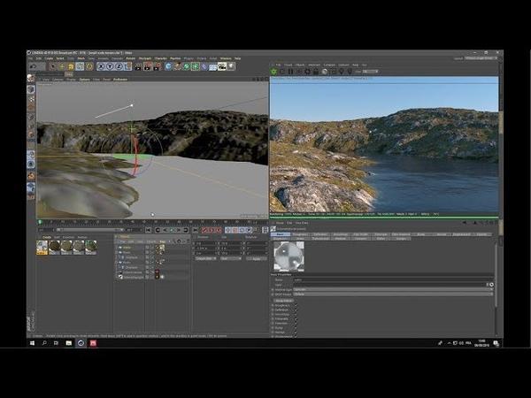 Creating terrain textures with the Quixel Mixer