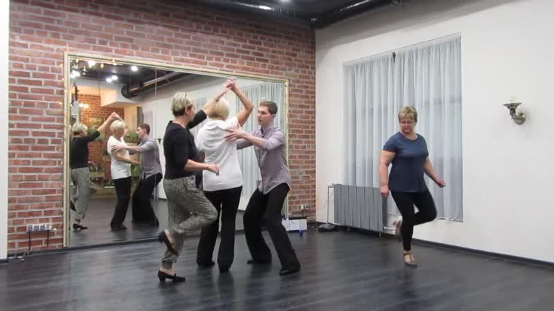 Танцевальные уроки. Студия Динамика 183.
