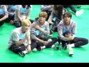 180820 Jeno, Chenle, Lucas at Idol Star Athletics Championships