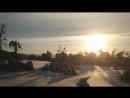 Черный снег Мурманска!)