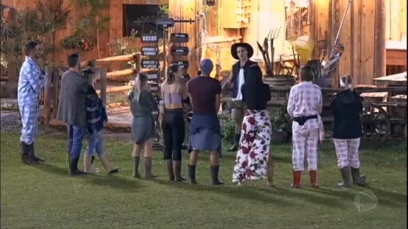 Marcelo passa o chapéu de Fazendeiro a Yuri e dá fim à 'monarquia'