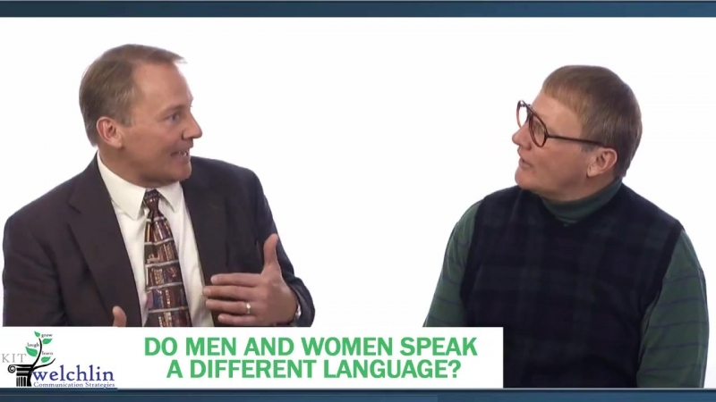6 Do Men And Women Speak a Different Language - presented by Kit Welchlin(1)