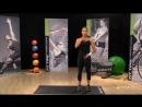 Тренировка для снятия стресса в стиле йога Саманта Клейтон