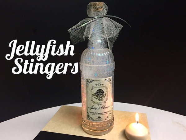Jellyfish Stingers Potion DIY Potion Bottle Halloween Prop ( Harry Potter Inspired )