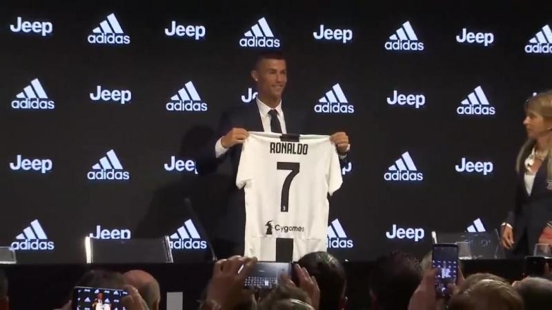 Роналду в Ювентусе