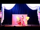 Восточный танец с вейлами на конкурсе Stars Way, Великие Луки, 29.04.2018