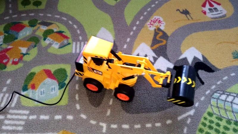 Обзор детской игрушки Каток Строительная техника Mioshi tech