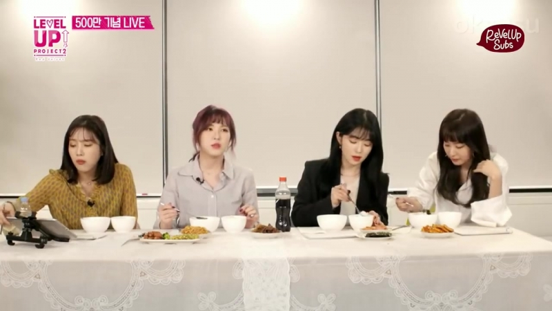 [ENG] 180205 Red Velvet (레드벨벳) 5 Million Viewers Oksusu Live Mukbang