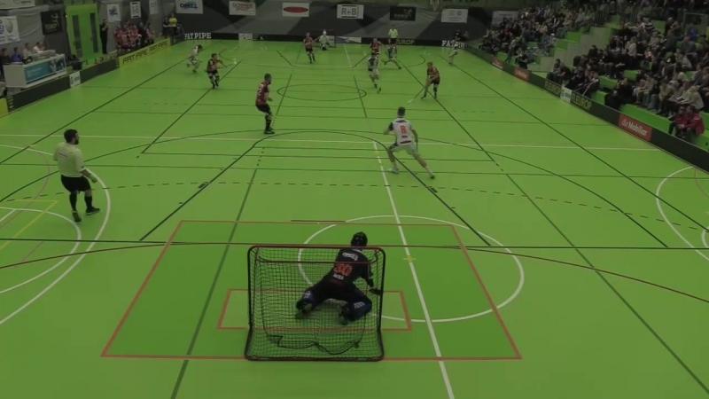 Playoff 1/4 Final: NLA - Grasshopper Club Zürich - UHC Alligator Malans