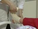 Восьмиобразная повязка на голеностоп YouTube
