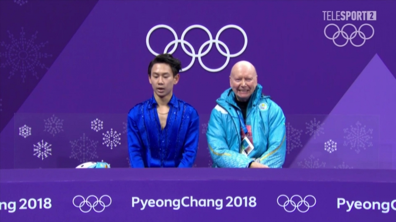 Denis Ten Olympic games 2018 SP