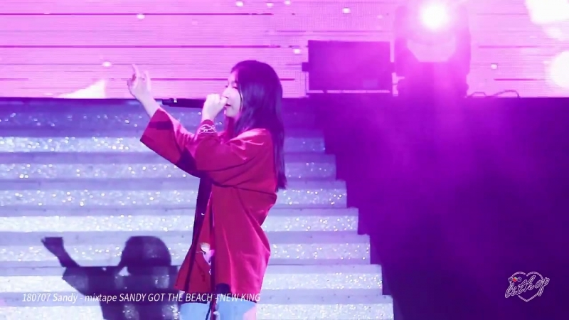 FANCAM 07 07 18 3 SANDY in Super Rookie Concert GIVE DREAM 1st FULL FANCAM