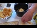 Яблоки во фритюре