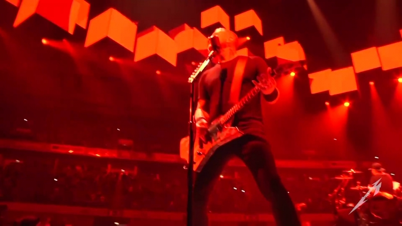 Metallica Sad But True. 1 февраля 2018. Лиссабон, Португалия.